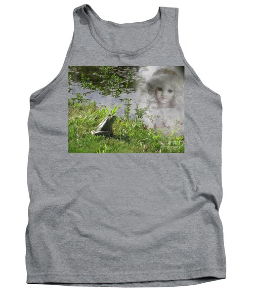 Tank Top featuring the photograph Enchanted Prince Fairy Tale by Ella Kaye Dickey