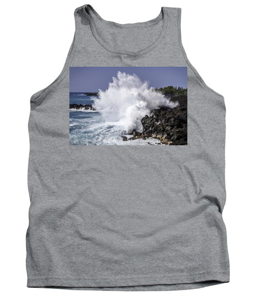 End Of The World Explosion Tank Top by Denise Bird