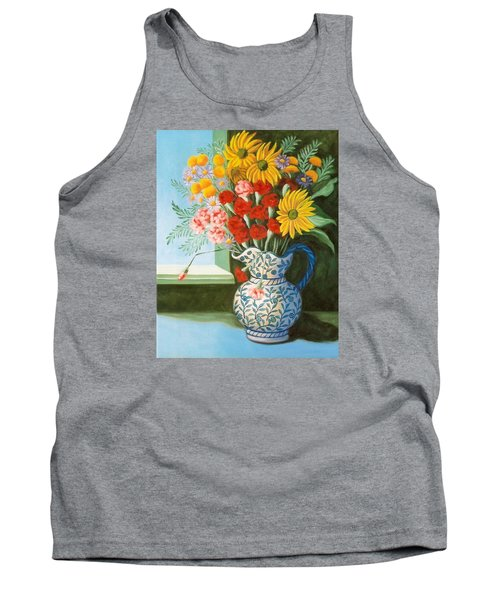 English Bouquet Tank Top