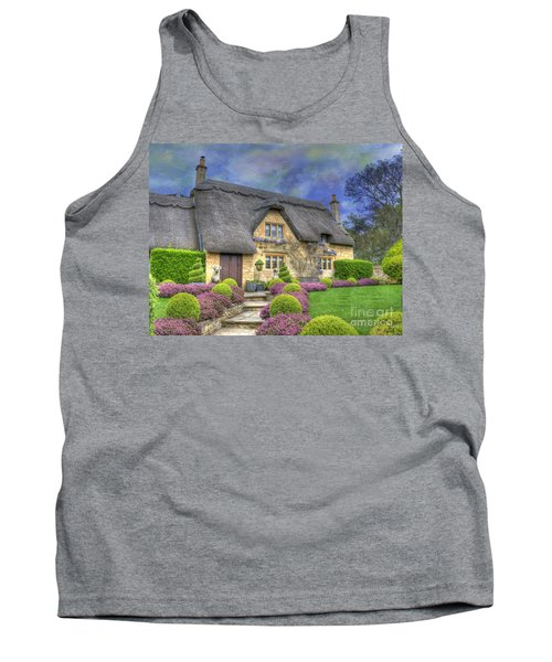 English Country Cottage Tank Top by Juli Scalzi
