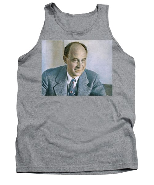 Tank Top featuring the photograph Enrico Fermi (1901-1954) by Granger