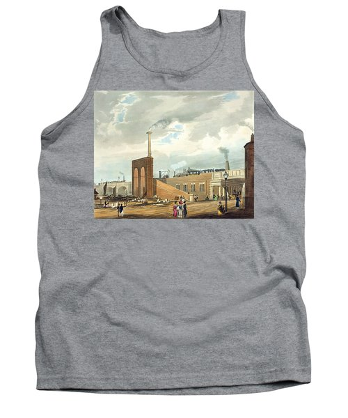 Entrance Into Manchester Across Water Tank Top