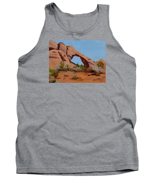 Tank Top featuring the painting Erosion by Pattie Wall