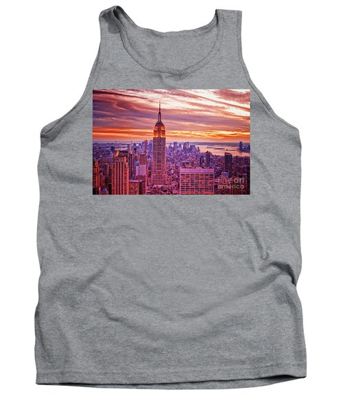 Evening In New York City Tank Top