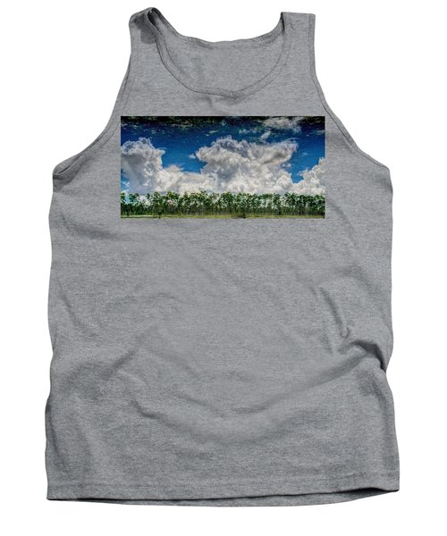 Reflected Everglades 0203 Tank Top