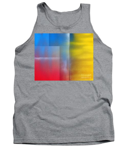 Tank Top featuring the painting Every Breath You Take by Roz Abellera Art