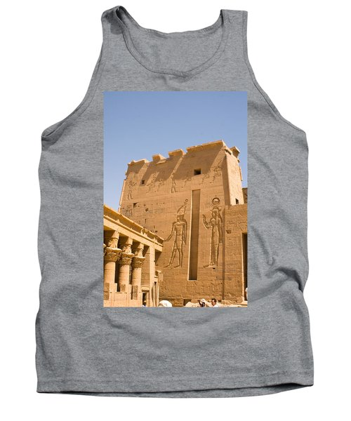 Exterior Wall Art Tank Top