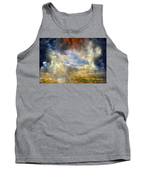 Eye Of The Storm  - Abstract Realism Tank Top