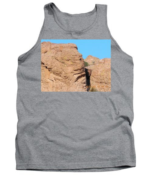 Face Of The Monolith Tank Top