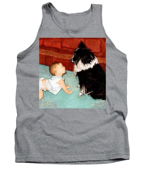 Face-to-nose Tank Top