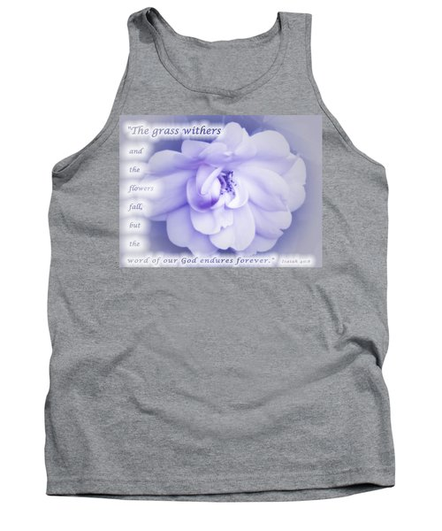 Fading Beauty Tank Top by Terry Wallace