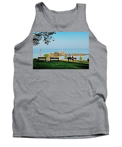 Fairhope Alabama Pier Tank Top
