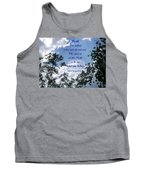 Tank Top featuring the photograph Faith by Aimee L Maher Photography and Art Visit ALMGallerydotcom
