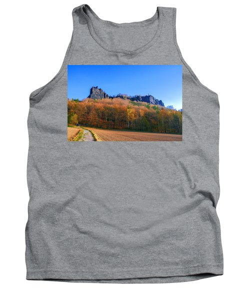 Fall Colors Around The Lilienstein Tank Top