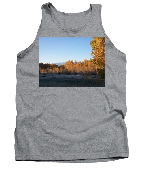 Tank Top featuring the photograph Fall On The River by Jewel Hengen