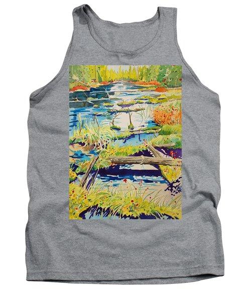 Fall River Scene Tank Top