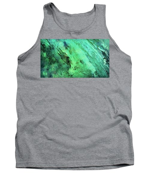 Tank Top featuring the mixed media Fallen by Ally  White