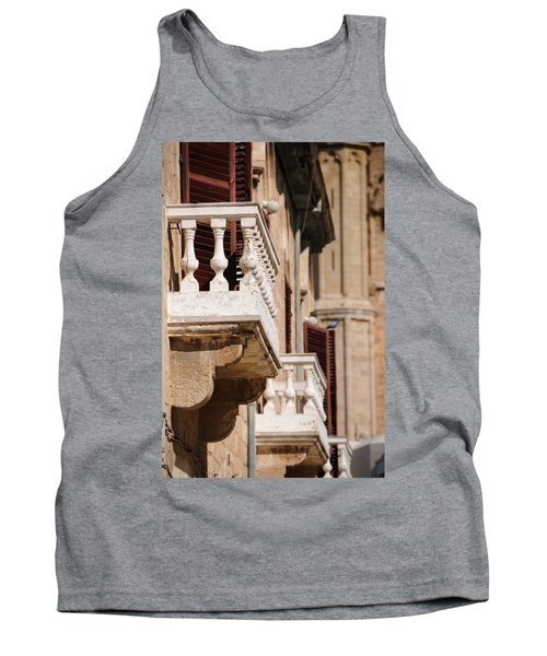 Tank Top featuring the photograph Famagusta Balconies by Jeremy Voisey