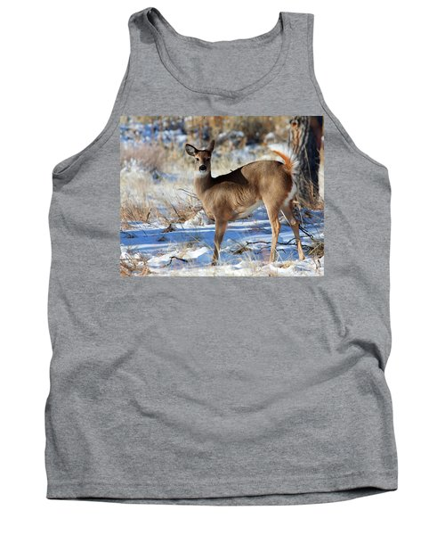 Tank Top featuring the photograph Fancy Pants by Jim Garrison