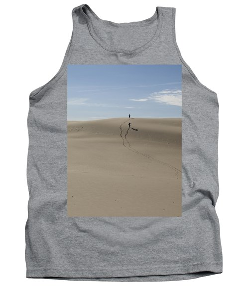 Tank Top featuring the photograph Far Away In The Sand by Tara Lynn
