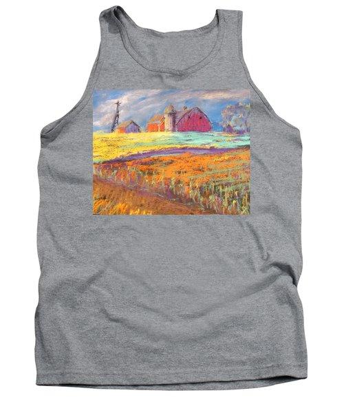 Farmland Sunset Tank Top
