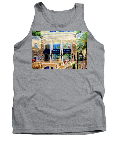 Fashion Vegas Style Tank Top by Barbara Chichester