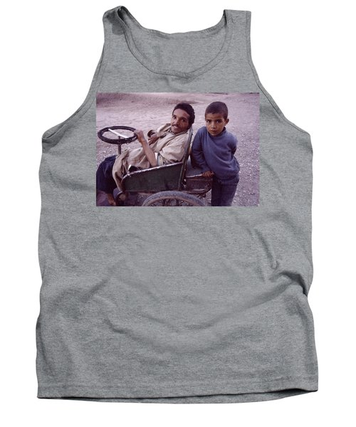 Father And Son Tank Top