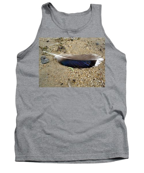 Feather And Inchworm Tank Top