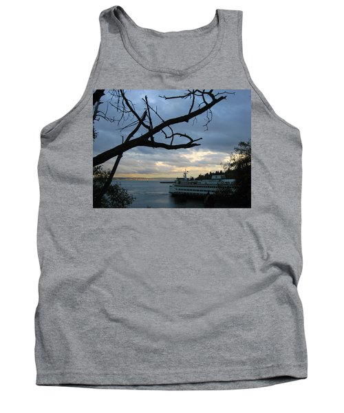Ferryboat To Seattle  Tank Top by Kym Backland