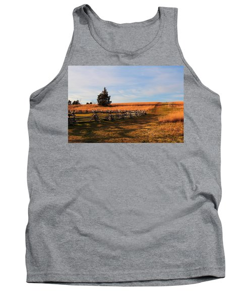 Field Of Shadows Tank Top