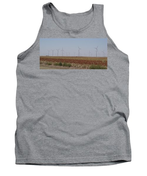 Tank Top featuring the photograph Field Of Wind by Fortunate Findings Shirley Dickerson