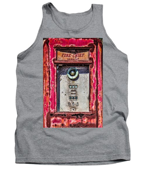 Tank Top featuring the photograph Fire Chief Gas by Steven Bateson