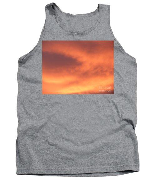 Fire Clouds Tank Top