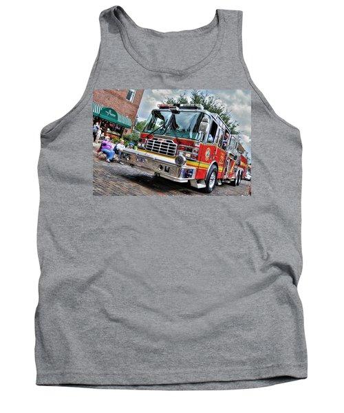 Firetruck Tank Top