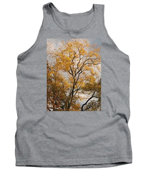 First Day Of Winter 2 Tank Top by Connie Fox