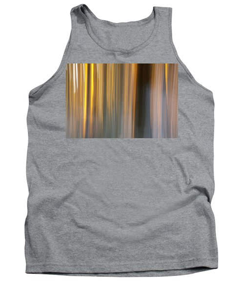 Tank Top featuring the photograph First Snow In Sunset by Davorin Mance