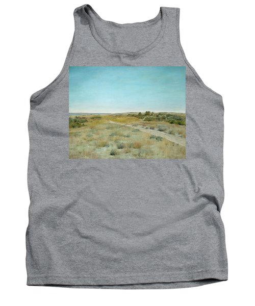 First Touch Of Autumn Tank Top by William Merritt Chase