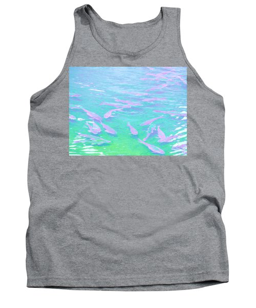 Tank Top featuring the photograph Fish by Rachel Mirror