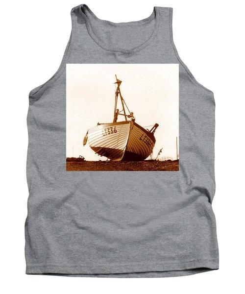 Fishing Boat Tank Top by Peter Mooyman