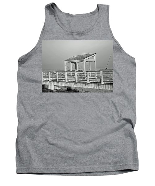 Tank Top featuring the photograph Fishing Pier by Tikvah's Hope