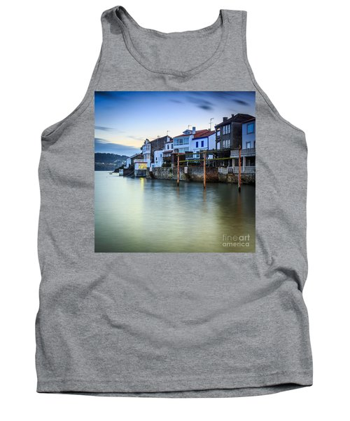 Fishing Town Of Redes Galicia Spain Tank Top by Pablo Avanzini