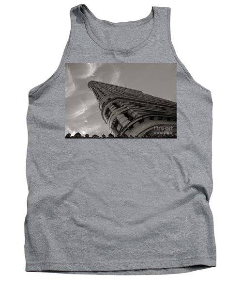 Flat Iron Building Tank Top by Angela DeFrias