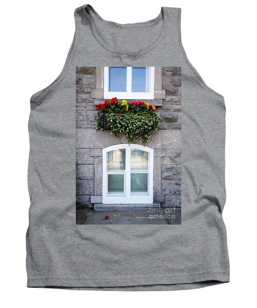 Flower Box Old Quebec City Tank Top