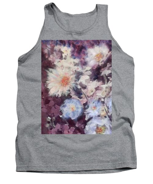 Flower  Burst Tank Top by Richard James Digance