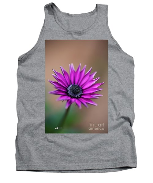 Flower-daisy-purple Tank Top