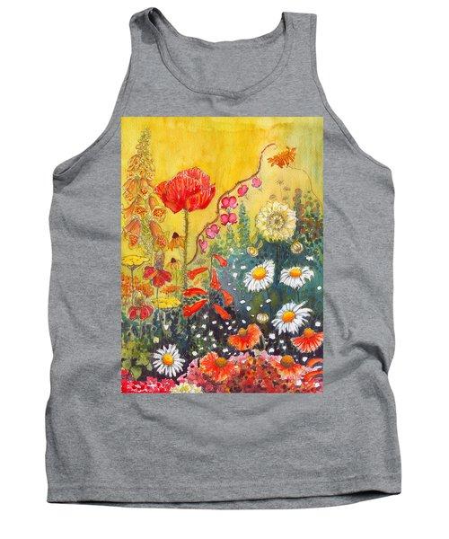 Flower Garden Tank Top