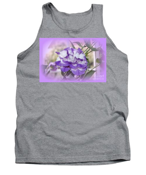 Flower In A Haze Tank Top