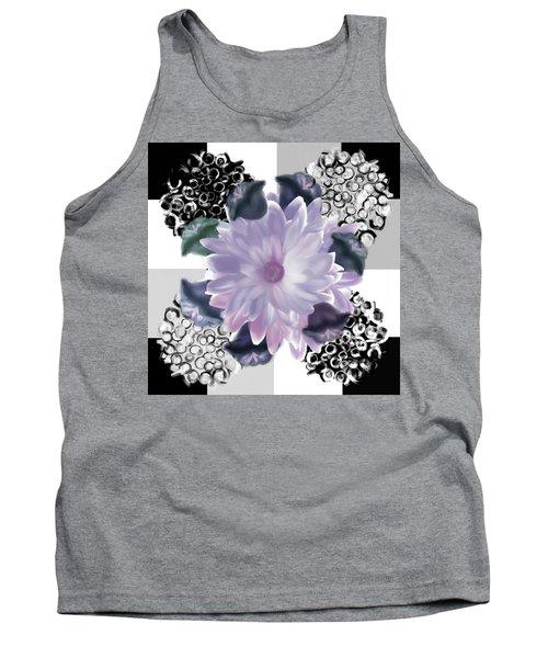 Flower Spreeze Tank Top by Christine Fournier