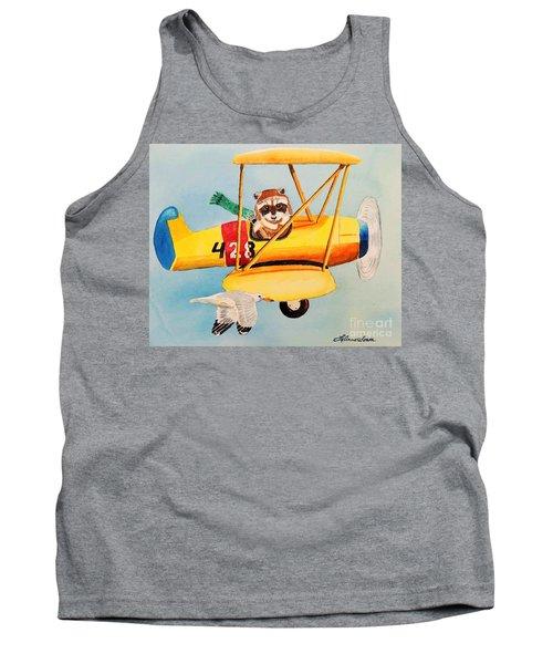 Flying Friends Tank Top