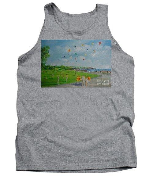 Flying Kites Newport Ri Tank Top